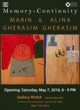Memory-Continuity, Marin and Alina Gherasim at Gallery RIVAA